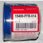 Genuine Honda Oil Filter 15400-PFB-014, 15400-ZZ3-003,
